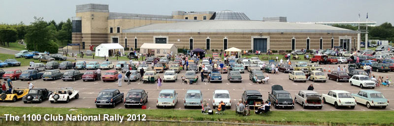 The 1100 Club National Rally 2012
